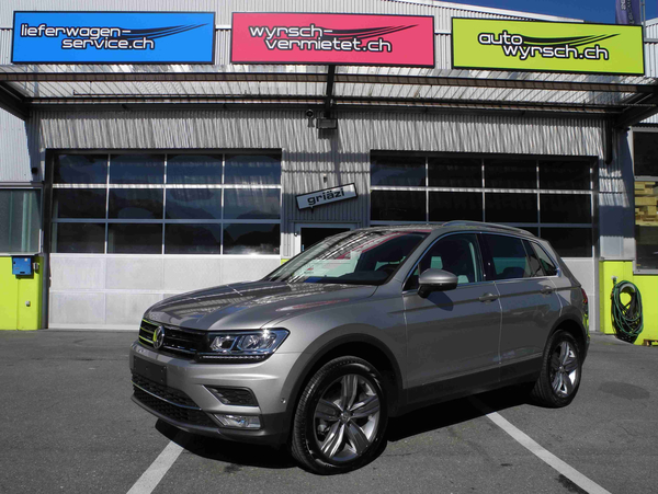 vw tiguan 2 0 tdi scr highline 4motion dsg suv gel ndewagen vw automatisiertes. Black Bedroom Furniture Sets. Home Design Ideas