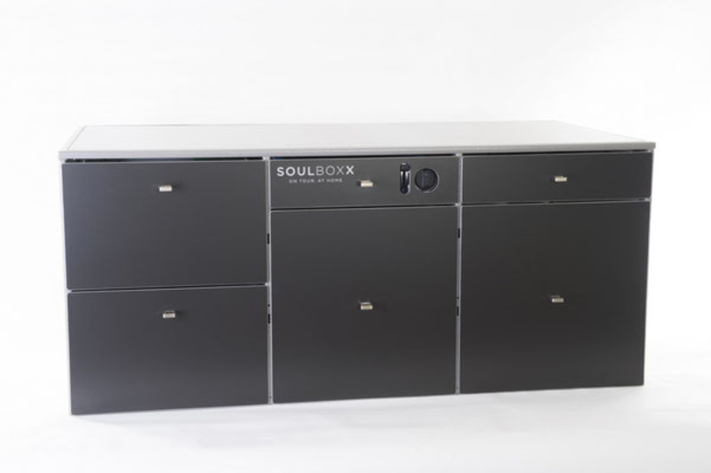 Dusche Sitzbank Tiefe : Soulboxx Basic + (California-Camping.ch Version)
